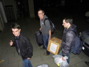 Nach der Ankunft in Istanbul